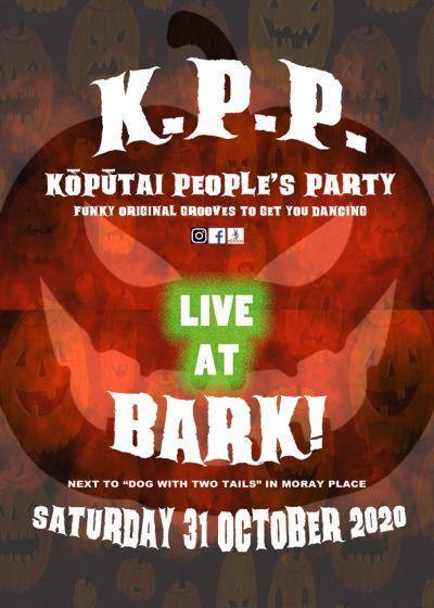 K.P.P. Aka Kōpūtai People's Party Play Bark! At Halloween