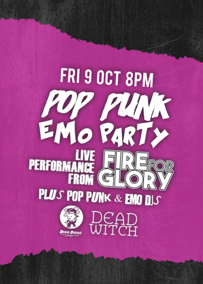 Pop Punk And Emo Party Plus Mcr Tribute