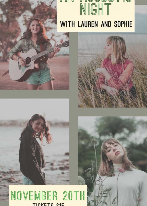An Acoustic Night w/ Lauren and Sophie