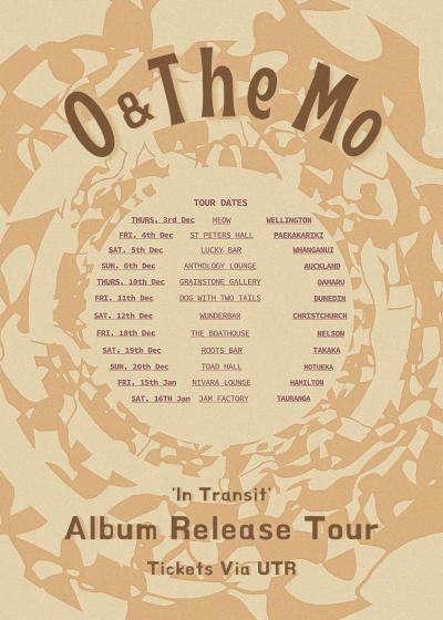 O & The Mo - In Transit Tour