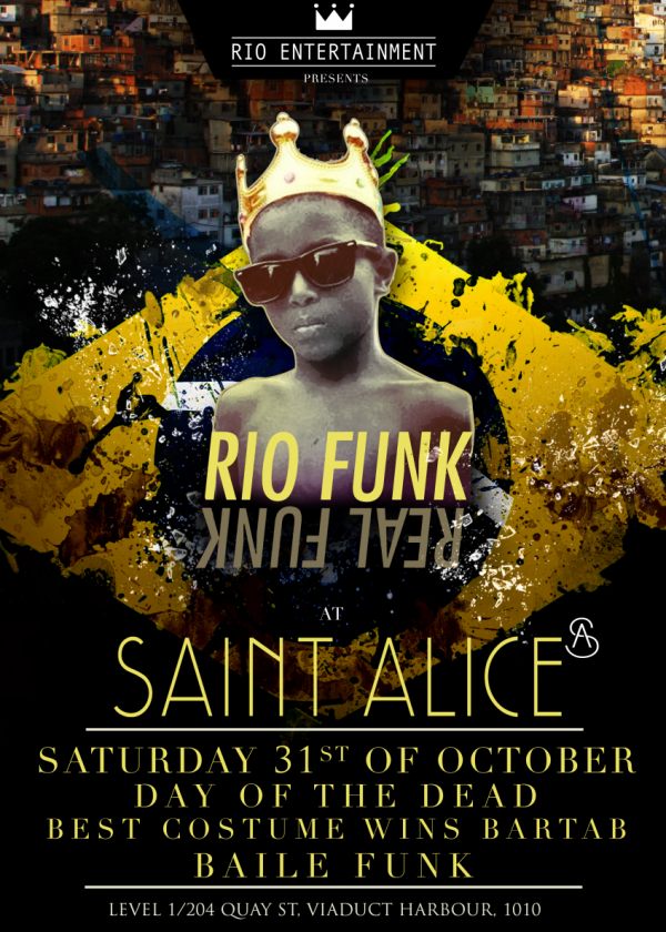 Rio Funk (Day Of The Dead Party)