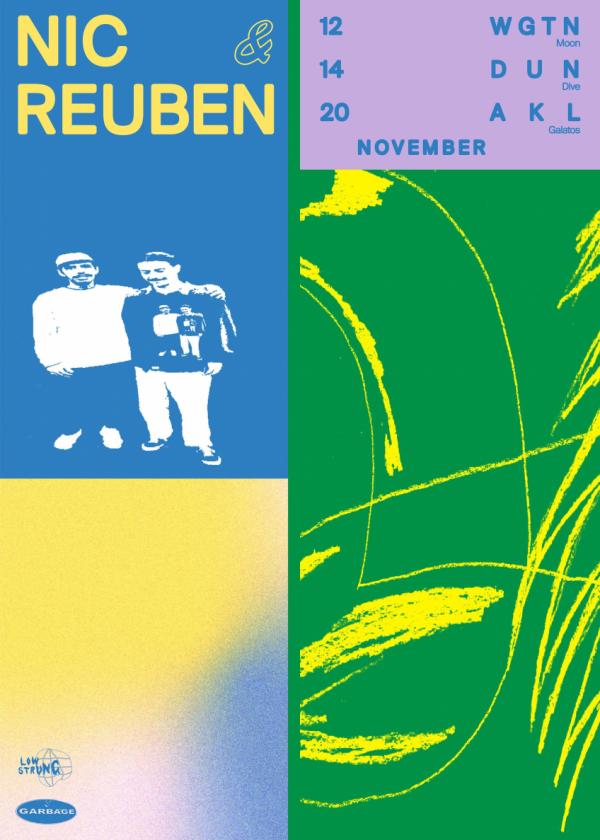 Nic And Reuben|Mini Tour