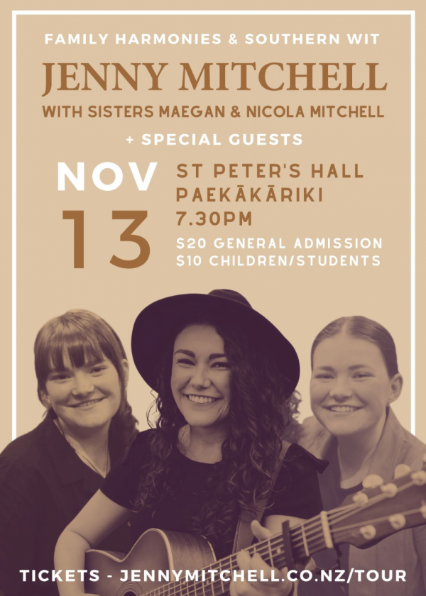 Jenny, Maegan And Nicola Mitchell - The Grainstore Sessions Tour