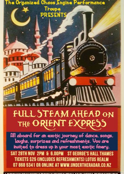 Full Steam Ahead On The Orient Express - Matinee Show