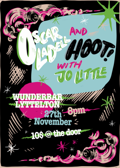Oscar Ladell and Hoot w/ Support From Jo Little