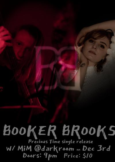 "Booker Brooks ""Precious Time"" Single Release w/ MiM"