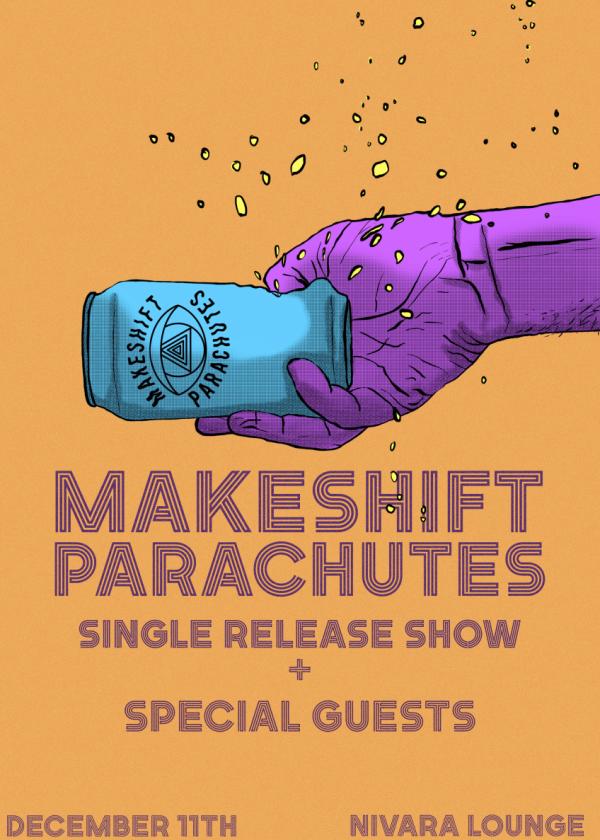 Makeshift Parachutes: Flaming Can Superman Tour