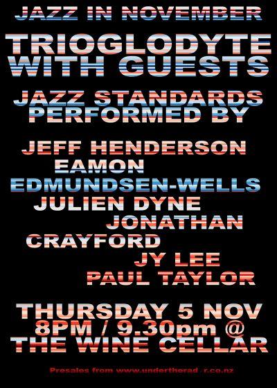 Jazz In November - Trioglodyte w/ Guests