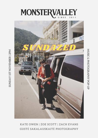 Sundazed: Music And Photography Pop-up