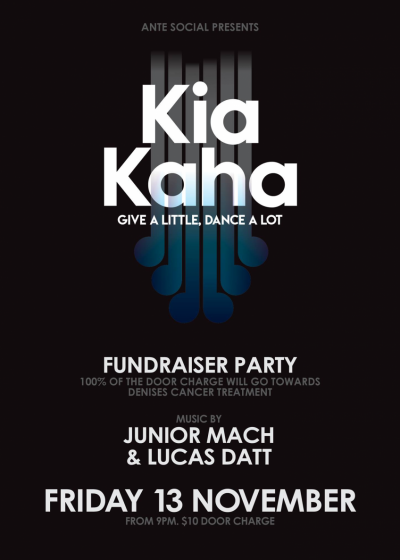 Kia Kaha (Fundraiser Party)