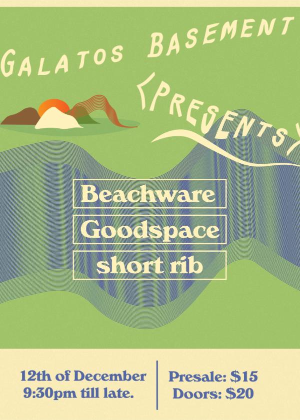 Beachware ~ Goodspace ~ Short Rib