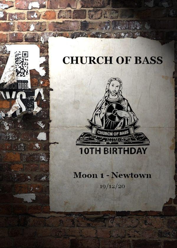 Church Of Bass Bettys 10th Birthday @ Moon 1
