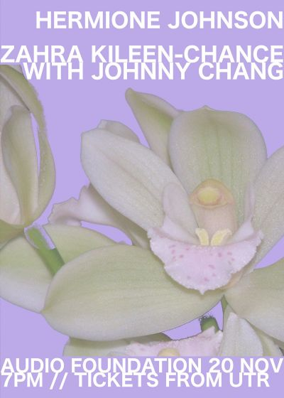 Hermione Johnson, Zahra Killeen-Chance w/ Johnny Chang