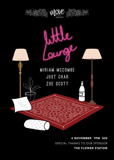 Little Lounge // Miriam Mccombe + Just Char + Zoe Scott