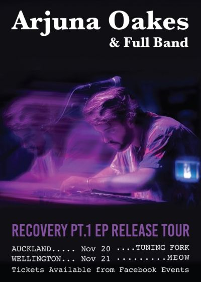 Arjuna Oakes Recovery Pt.1 EP Release