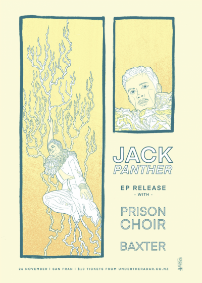 Jack Panther EP Release Show with Prison Choir & Baxter