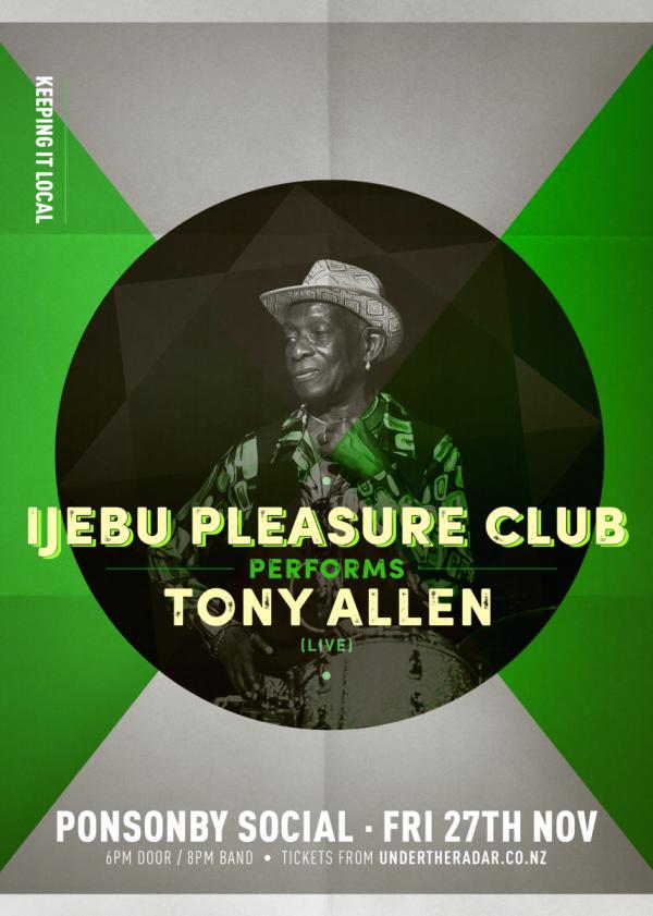 Ijebu Pleasure Club Performs Tony Allen