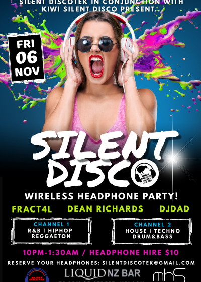 Silent Disco | Wireless Headphone Party