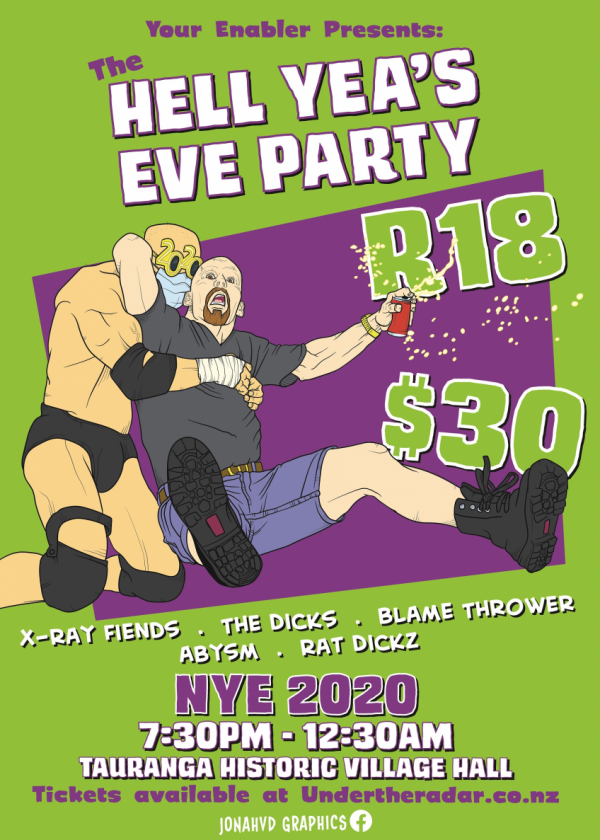 The Hell Yea's Eve Party