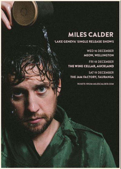 Miles Calder 'Lake Geneva' Single Release Shows