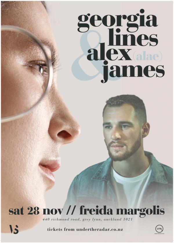 Georgia Lines and Alex James