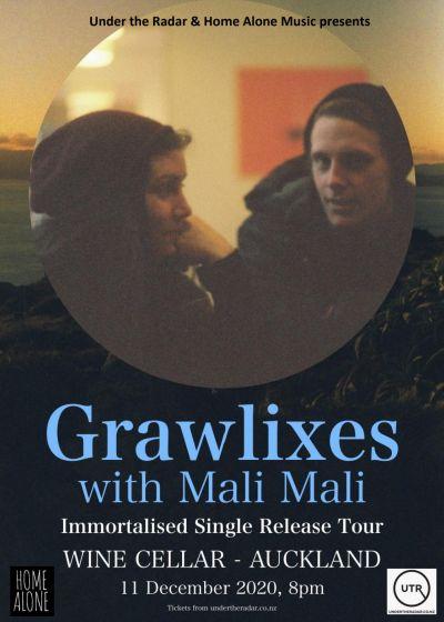 Grawlixes 'Immortalised' Single Release Show F. Mali Mali