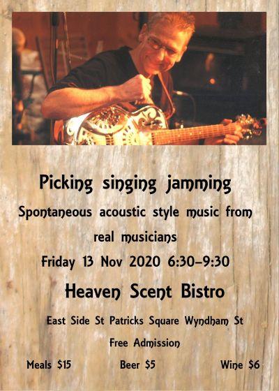 Picking Singing Jamming