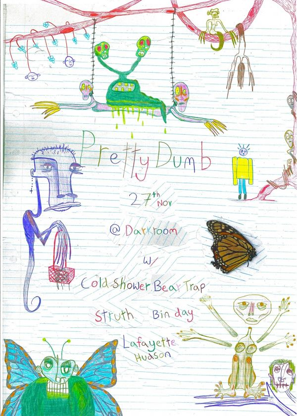 Pretty Dumb EP Release w/ Cold Shower, Bear Trap, Bin Day And More!