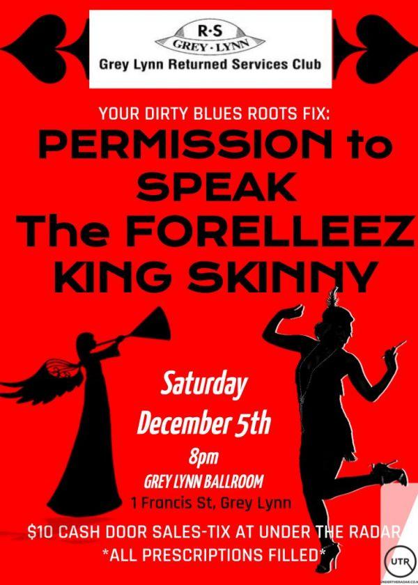 Permission To Speak - The Forelleez - King Skinny