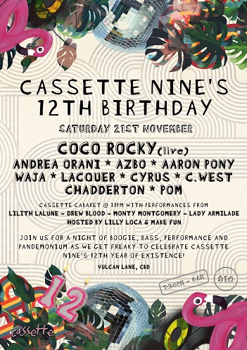 Cassette Nine's 12th Birthday