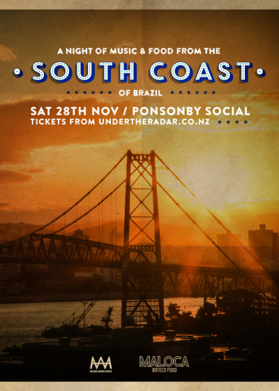 A Night Of Music And Food From The South Coast Of Brazil