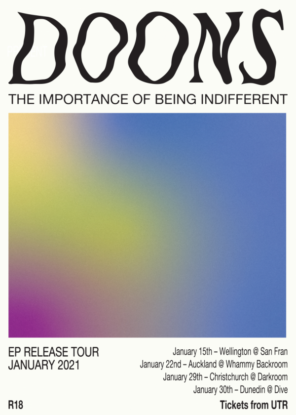 Doons EP Release - The Importance Of Being Indifferent
