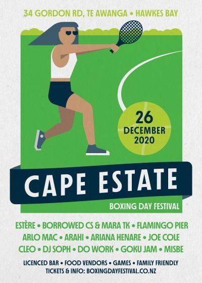 Cape Estate - Boxing Day Festival 2020