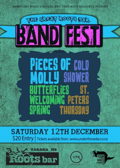 The Great Roots Bar Band Fest!