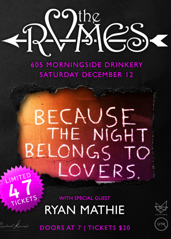 The RVMES    The Night Belongs To Lovers