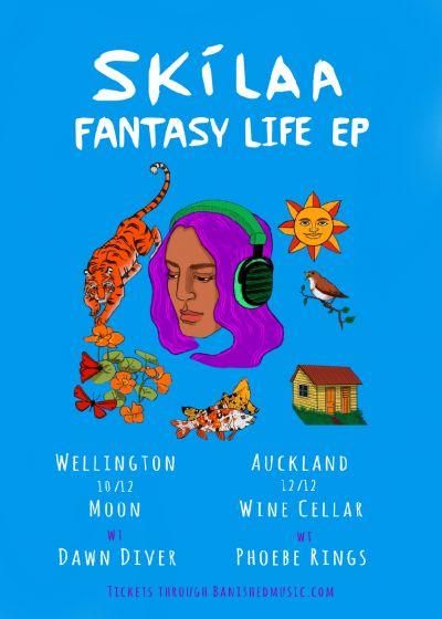Skilaa - Fantasy Life Ep Release