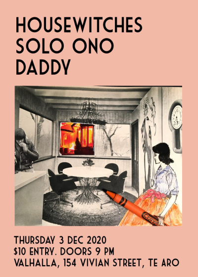 Solo Ono EP Release w/ Housewitches and Daddy