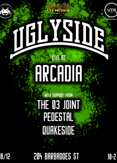 0three Events Presents: Uglyside Live