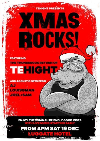 Xmas Rocks! Featuring Tehight