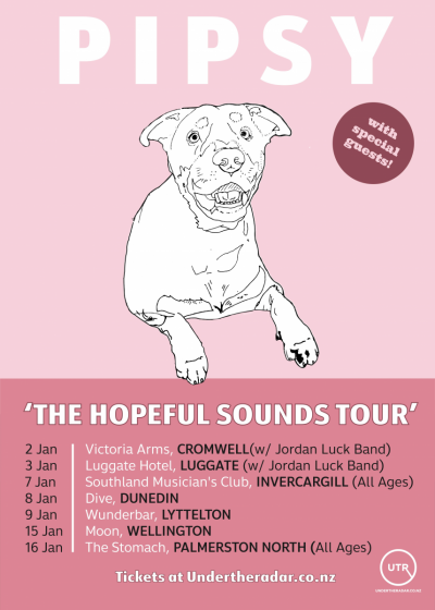 PIPSY 'The Hopeful Sounds Tour' w/ The Dense, And Sometime Winner