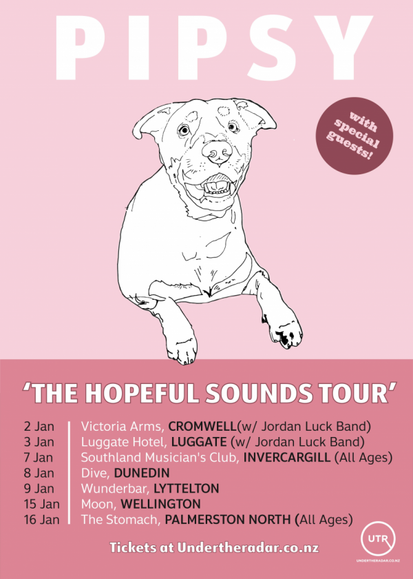 PIPSY 'The Hopeful Sounds Tour' W/ Persimmon