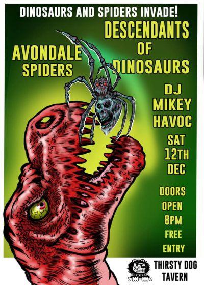 Descendants Of Dinosaurs, The Avondale Spiders, Dj Mikey Havoc