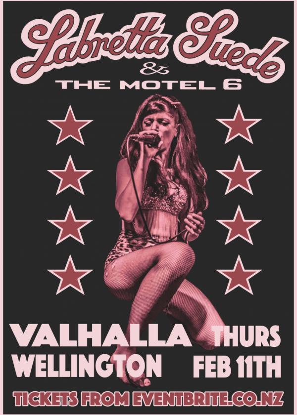 Labretta Suede And The Motel 6
