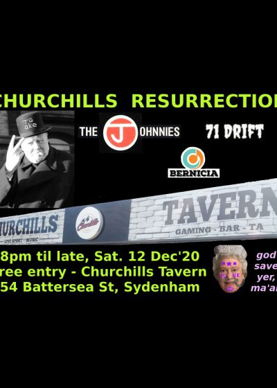 Churchills Resurrection - Punk Rock Live