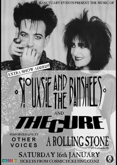 The Cure / Siouxsie - Live Tribute **Extra Show**