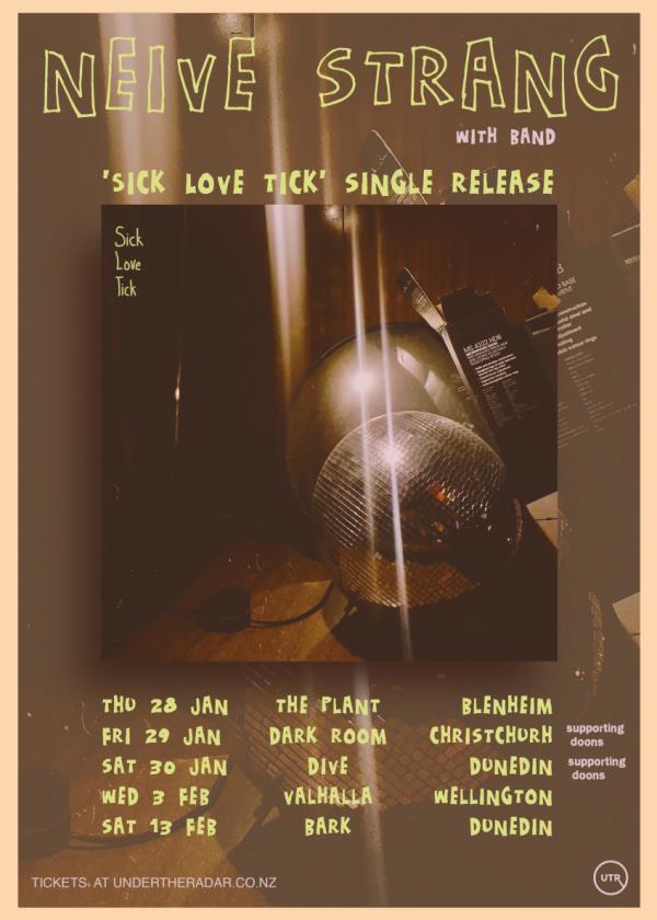 Neive Strang - 'Sick Love Tick' Single Release Tour