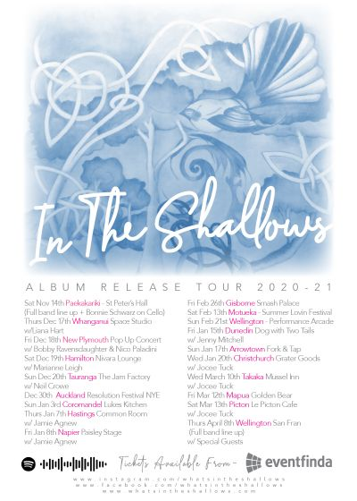 In The Shallows Debut Album Tour - w/ Jocee Tuck