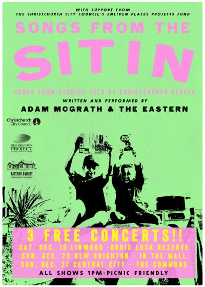 The Sit In - Adam McGrath *POSTPONED*
