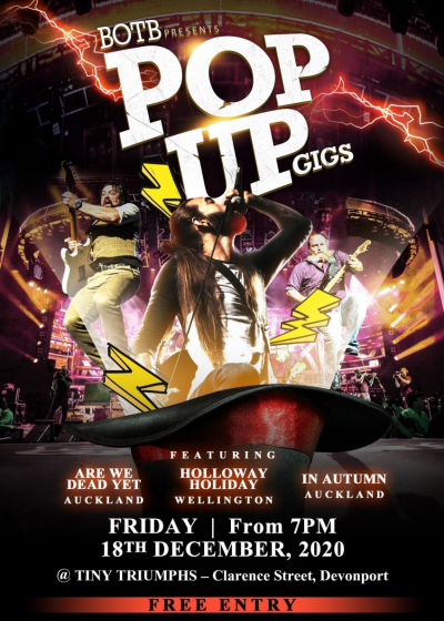 Pop Up Gigs Presented By Botb And Tiny Triumphs