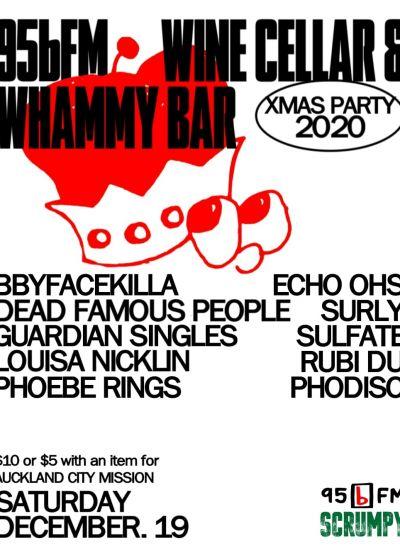 95bfm, Wine Cellar And Whammy Bar Xmas Party 2020